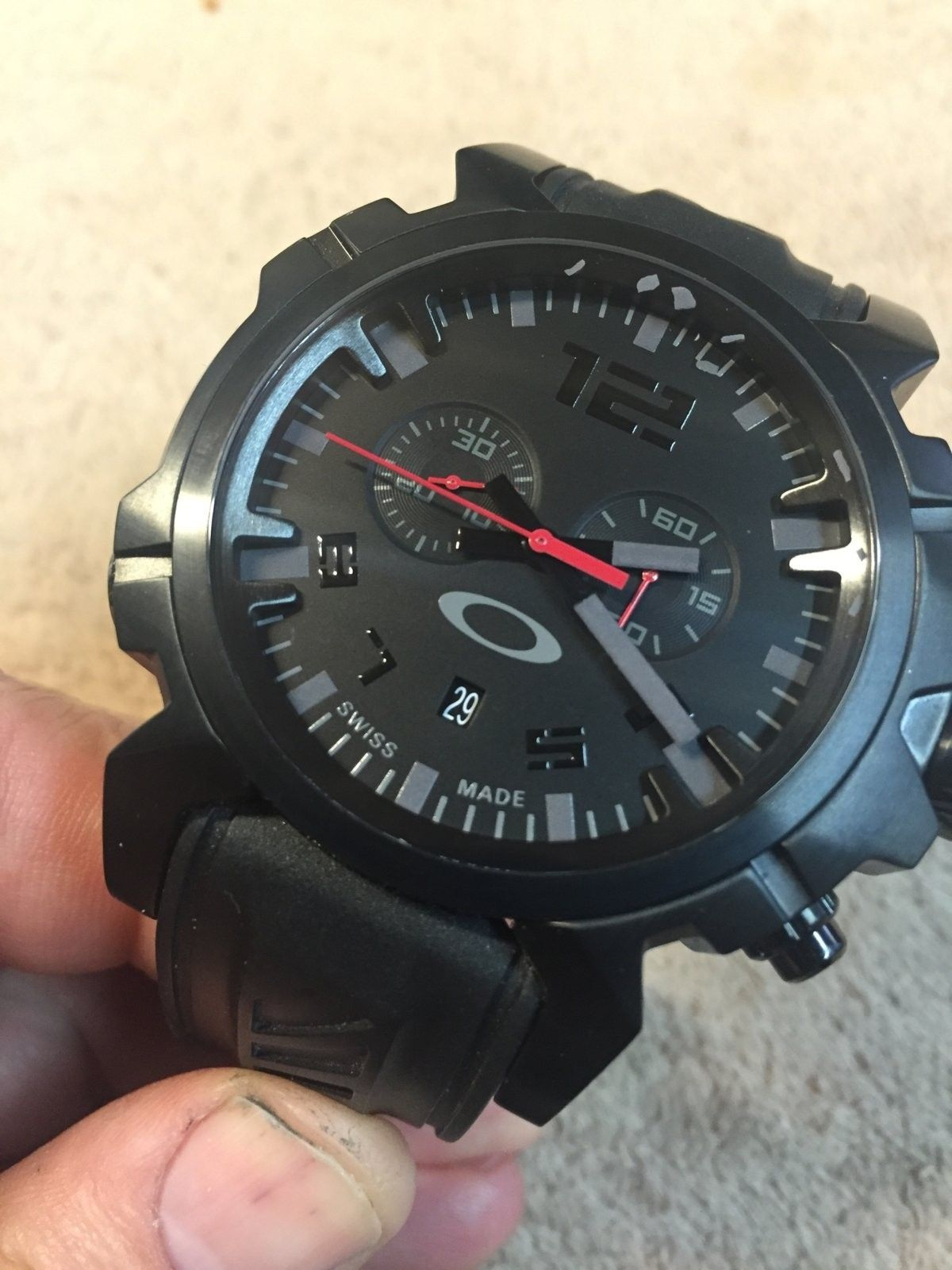 Happy to get my watch back from Oakley this week:) - DoubleTap Front.JPG