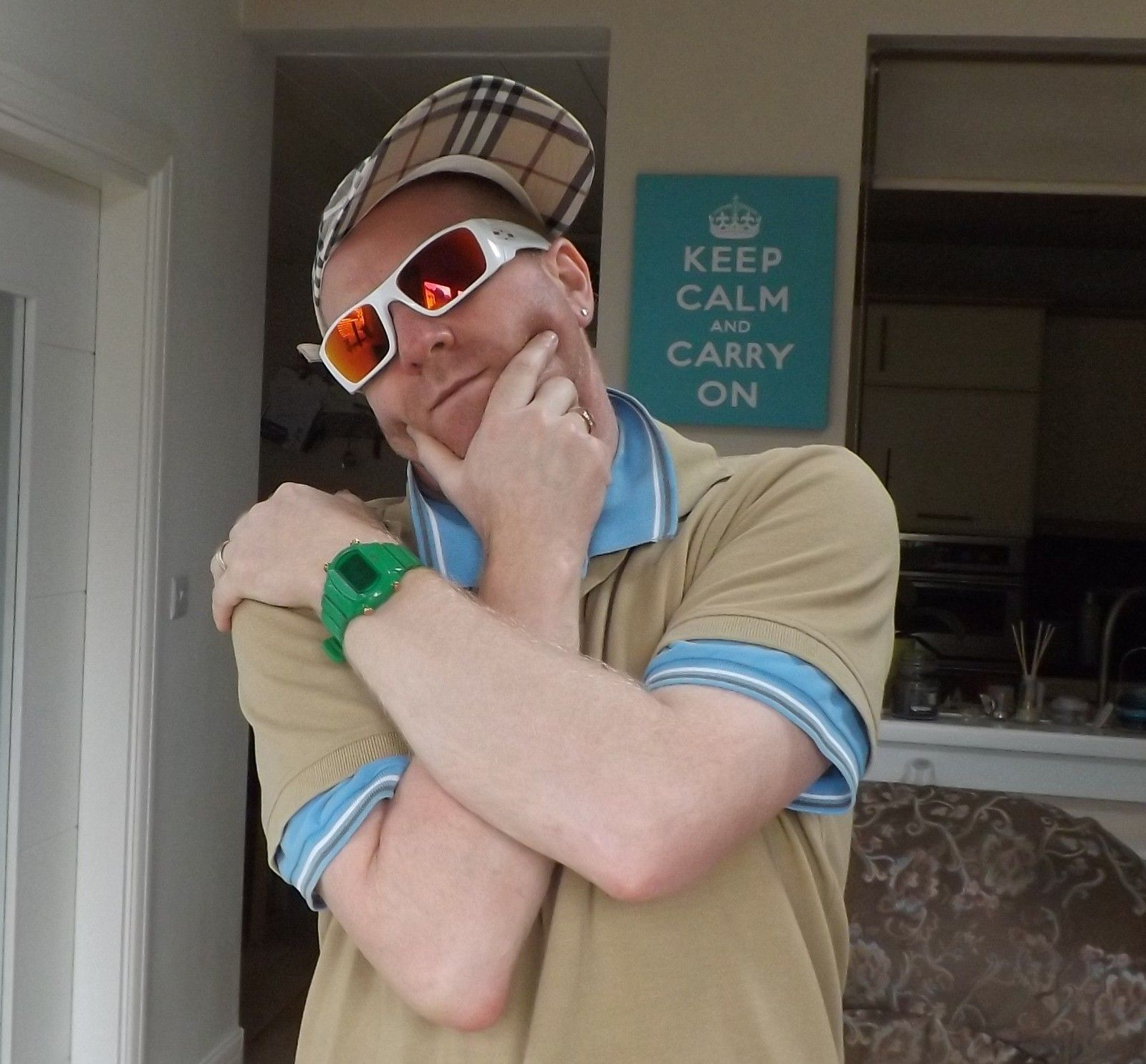 """Picture Thread: """"Official 'Be a Douche: Wear Your White Oakleys' Day - 8th July 2012"""" - doucheydad.jpg"""
