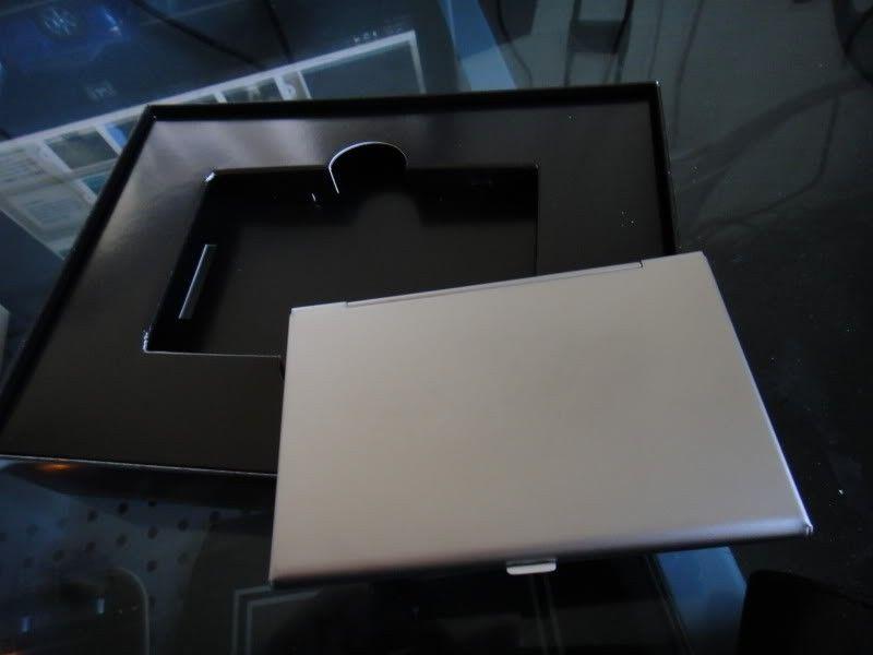 RARE Brand New In Box  ICON CARD CASE (ALUMINUM SUPER RARE) Collectors Item!!!! - DSC00071.jpg