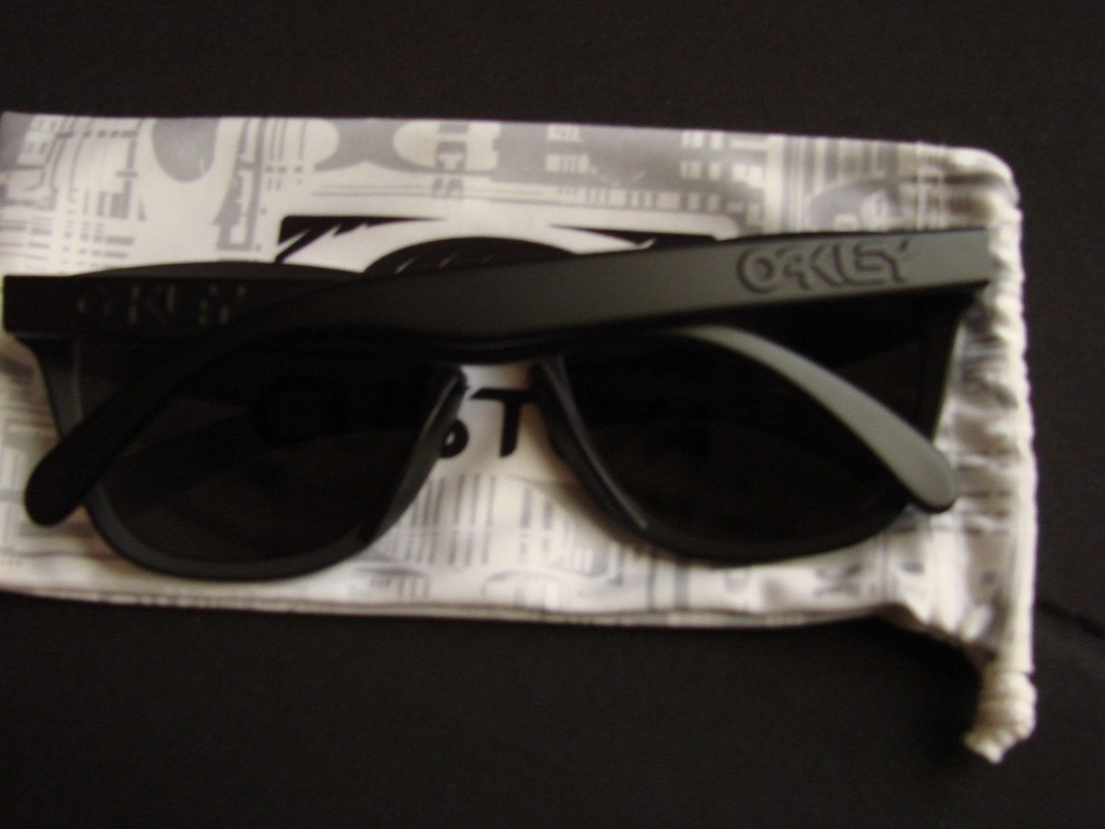 "SOLD - Matte Black OCP ""Stealth"" Frogskins w/Ice Iridium - DSC00169.JPG"