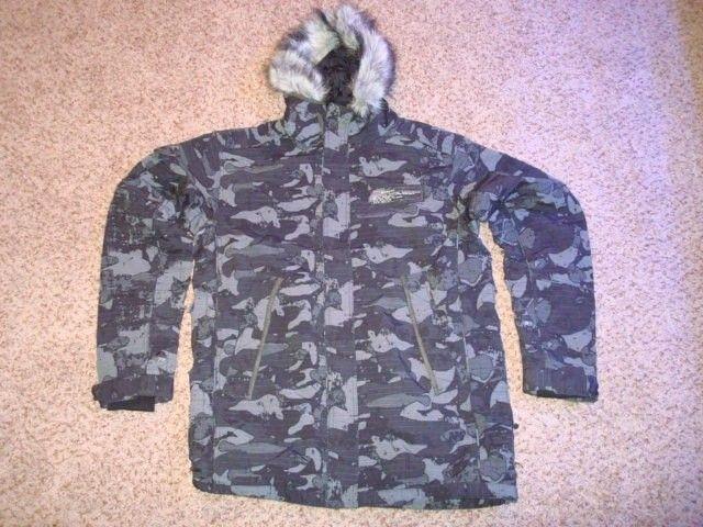 Night Camo Urban Assault Standard Issue Winter Coat Size M - DSC00229.JPG
