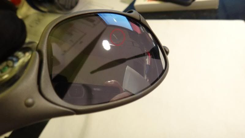 Oakley Juliet X Metal Frame Black Iridium Lens NO SERIAL Mint Like New - DSC00565_zpsa4fad43e.jpg