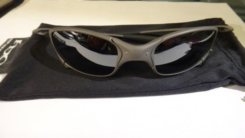 Oakley Juliet X Metal Frame Black Iridium Lens NO SERIAL Mint Like New - DSC00574_zpscd3efa1e.jpg