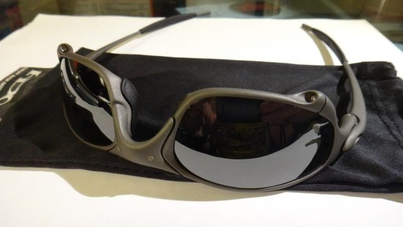 Oakley Juliet X Metal Frame Black Iridium Lens NO SERIAL Mint Like New - DSC00584_zps9bd57824.jpg