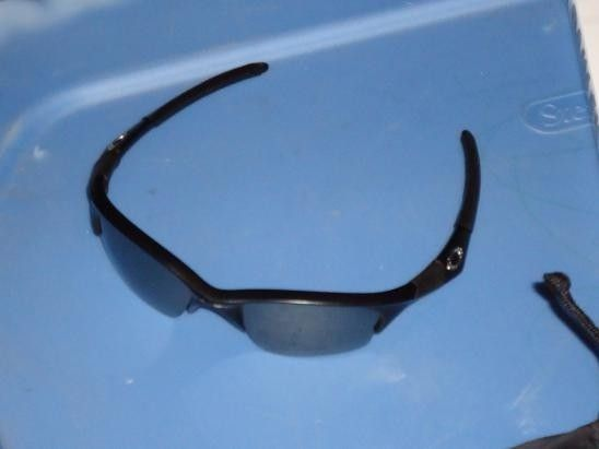 Half Jacket XLJ Rootbeer & Black Frames -- Matte Black Monster Dog - DSC00689_zps60d5987c.jpg