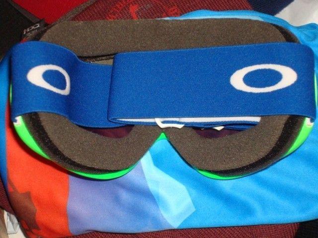Sochi 2014 Olympic Green Goggles w/ Microfiber & Olympian Card - DSC00758.JPG