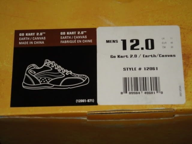 NIB Shoes For Sale SILK Gatling Habanero Rip Cord Go Kart 2.0 - DSC01033.jpg