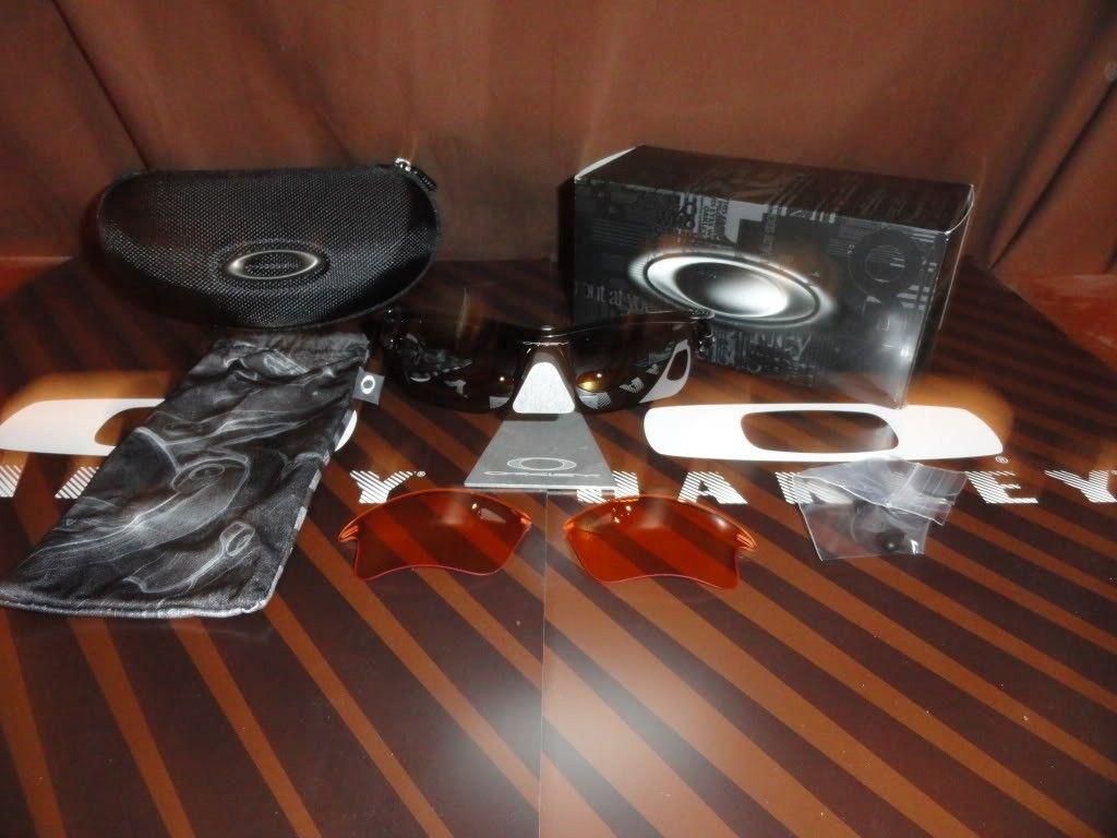 Fast Jacket XL Polished Black/Black Iridium/Persimmon For Sale - DSC02326_zps6fe5691b.jpg