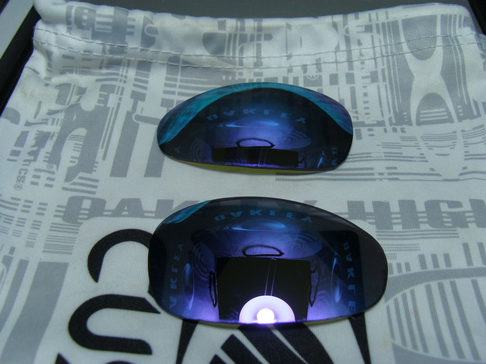 Custom Cut Violet Iridium Lenses For Juliet BNIB - dsc03858j.jpg