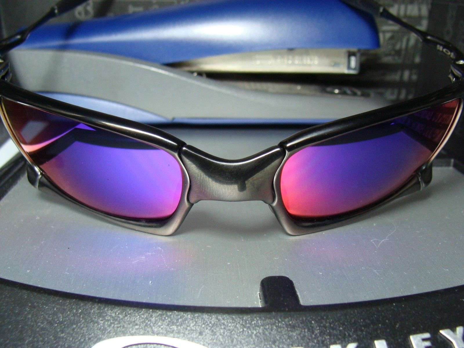 Custom Cut XS Pos Red Lenses, Freshly Cut From Oakley Donor - DSC04585.JPG