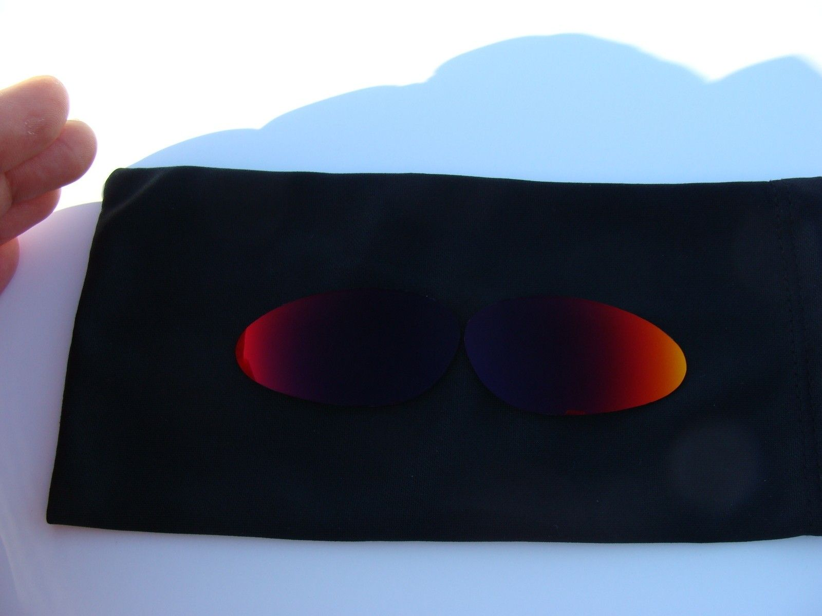 Custom Cut (Oakley) Lenses For Penny 10/011: 24k Polar, Red/Purple, Jade, Blue, Fire - DSC04603.JPG