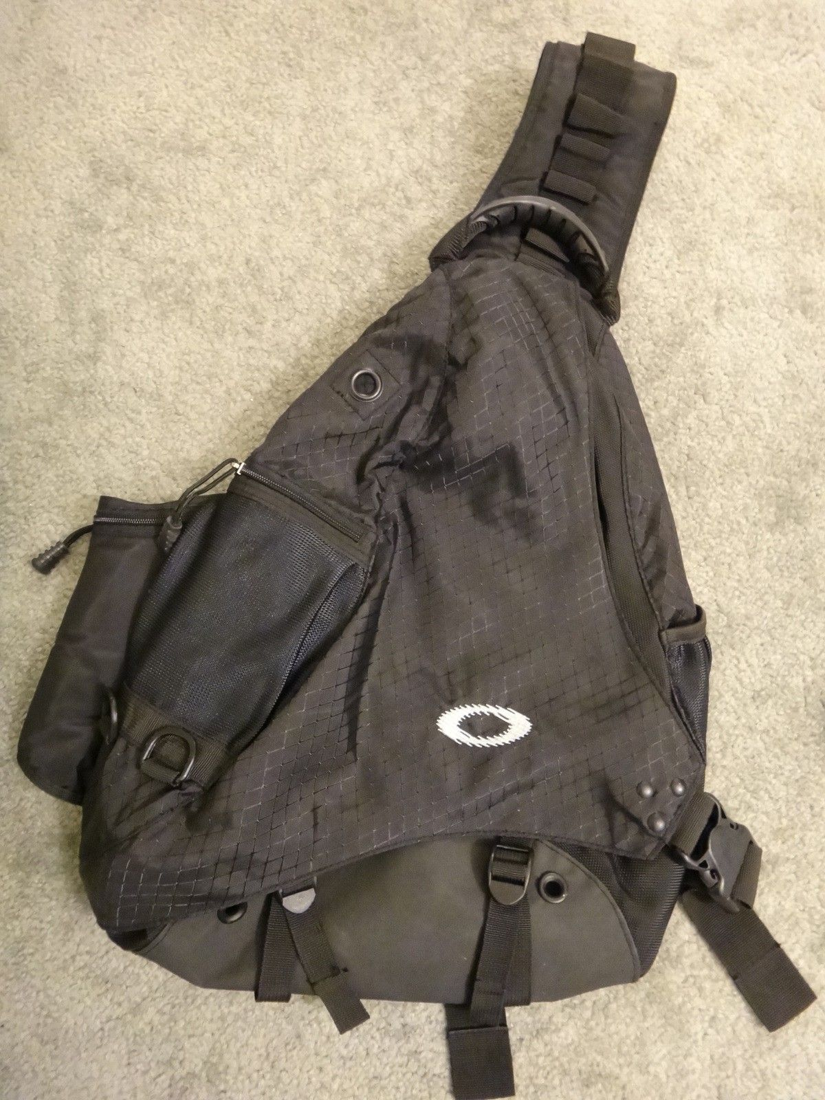 Oakley SANDBAG original full black. Like new. - DSC05702.JPG