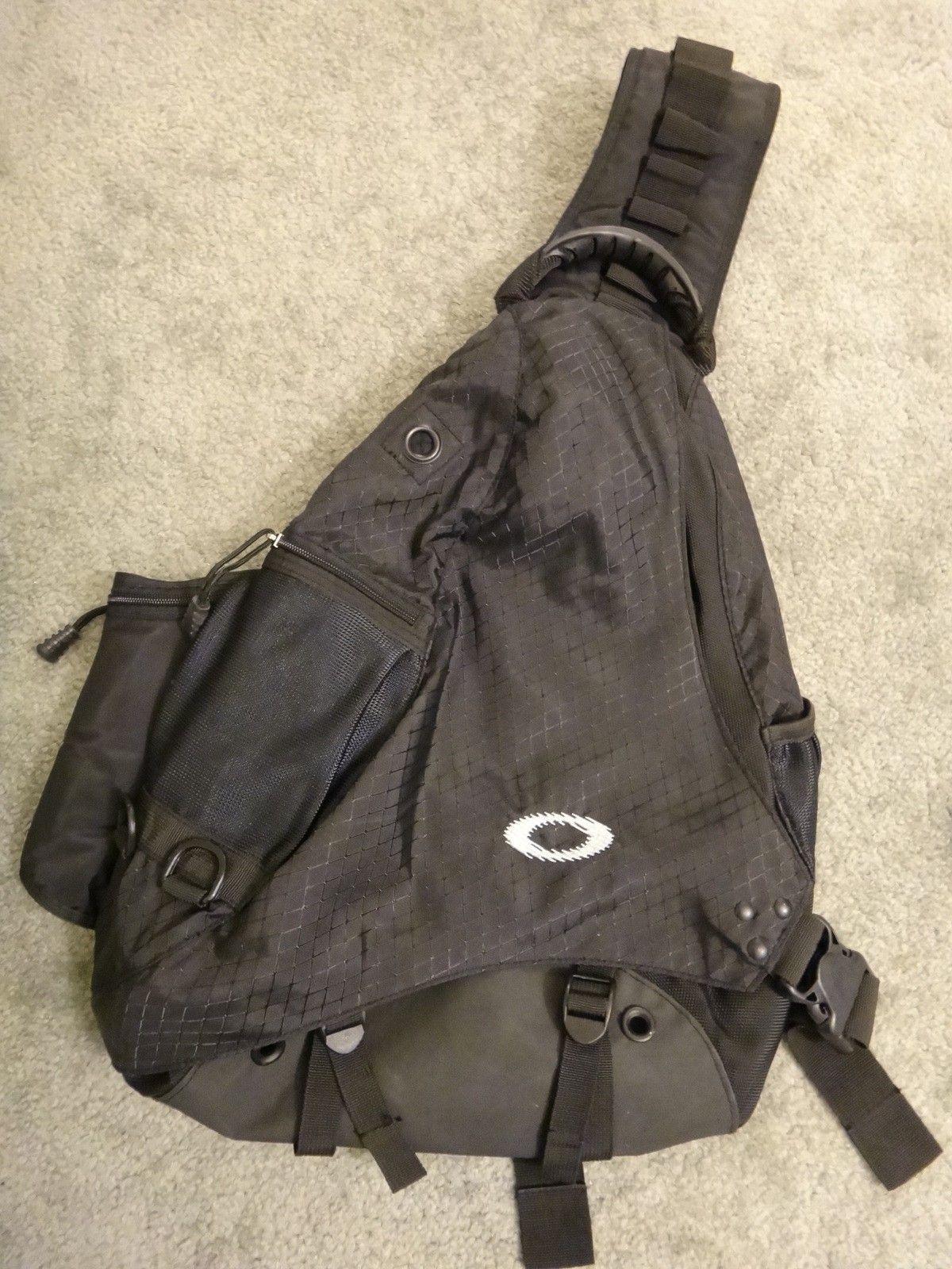 Oakley SANDBAG original full black. Like new. - DSC05702.JPG