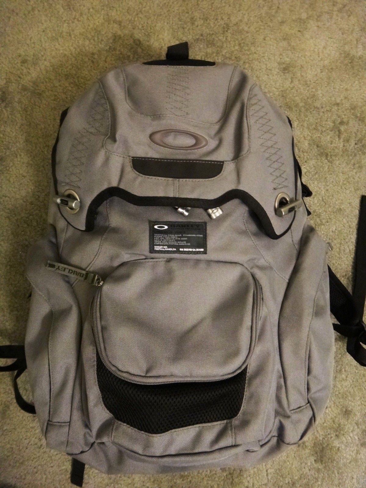 4af4ce2d95 For Sale - Oakley panel pack backpack sheet metal book of eli ...