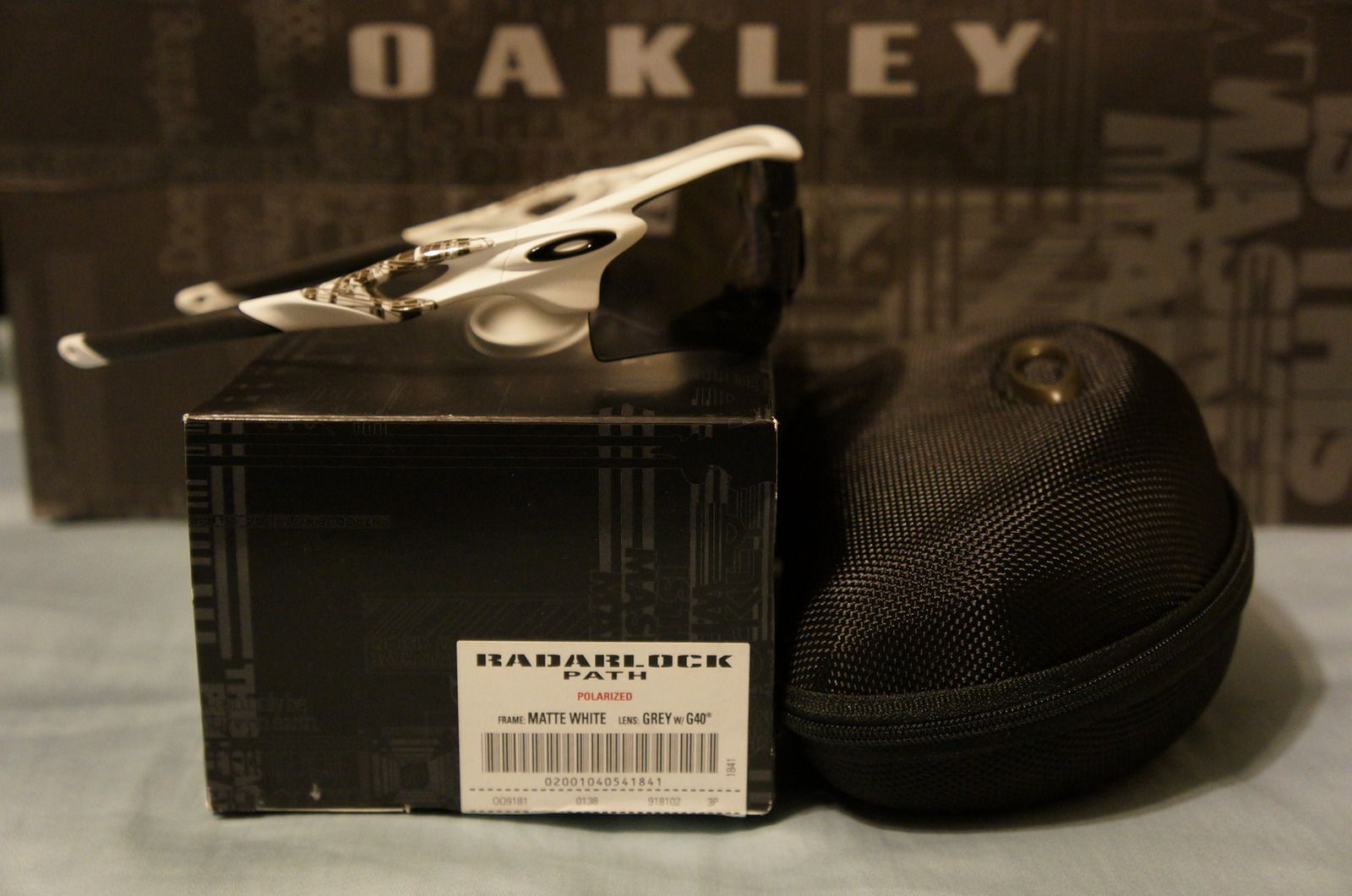 Radarlock - Matte White W/ Grey Polarized & G40 Path BNIB - Price Drop! - dsc07025b.jpg