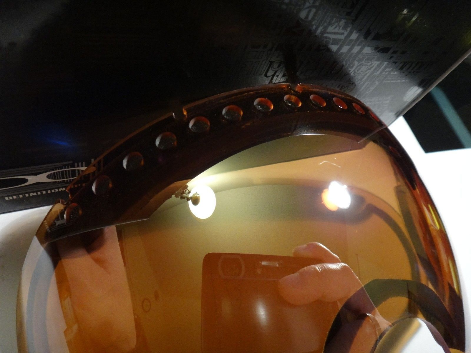 Collector frogskins, garage rock, Juliet lenses, juliet gaskets/screws, A frame lens  snow goggle - DSC07113.JPG