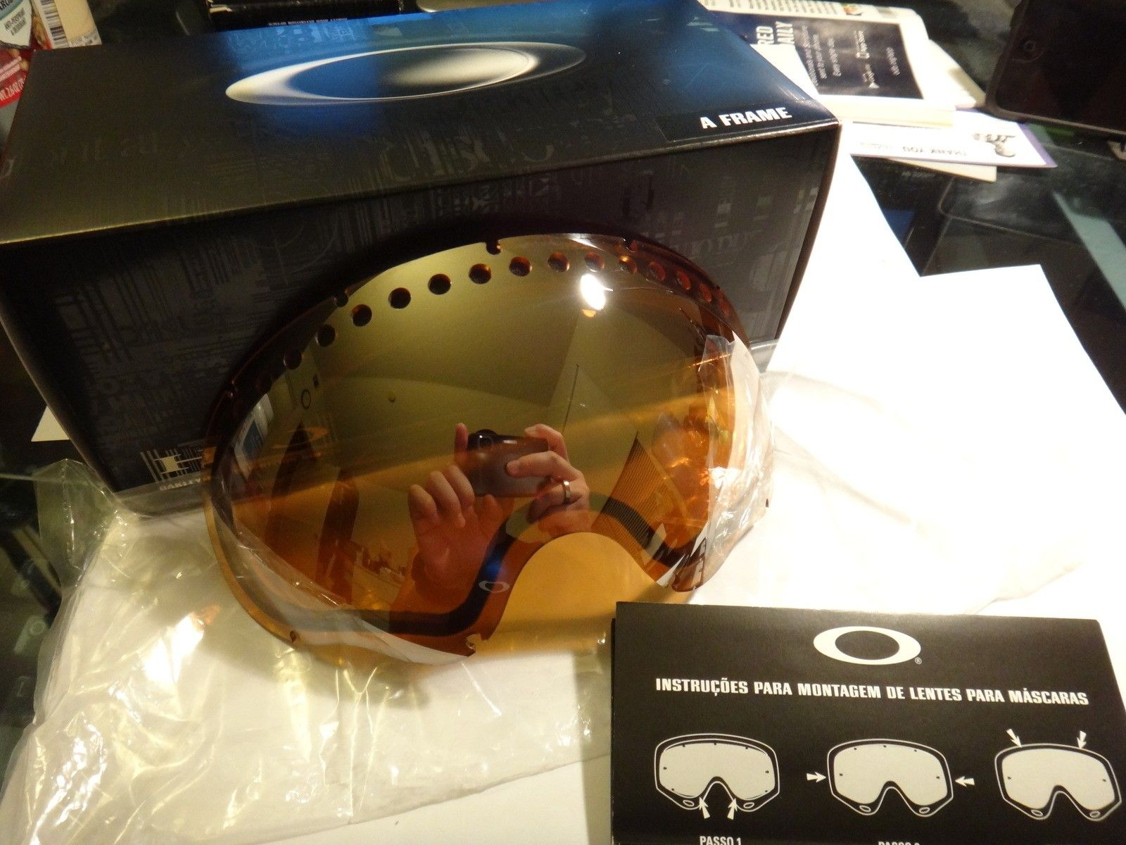 Collector frogskins, garage rock, Juliet lenses, juliet gaskets/screws, A frame lens  snow goggle - DSC07123.JPG