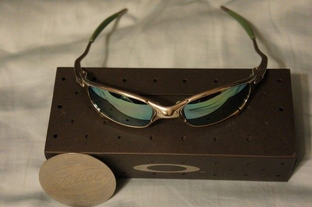 Juliet - Custom Polished/Emerald - Green Rubber +BNIB Emerald Lens - PRICE DROP! - dsc07130u.jpg