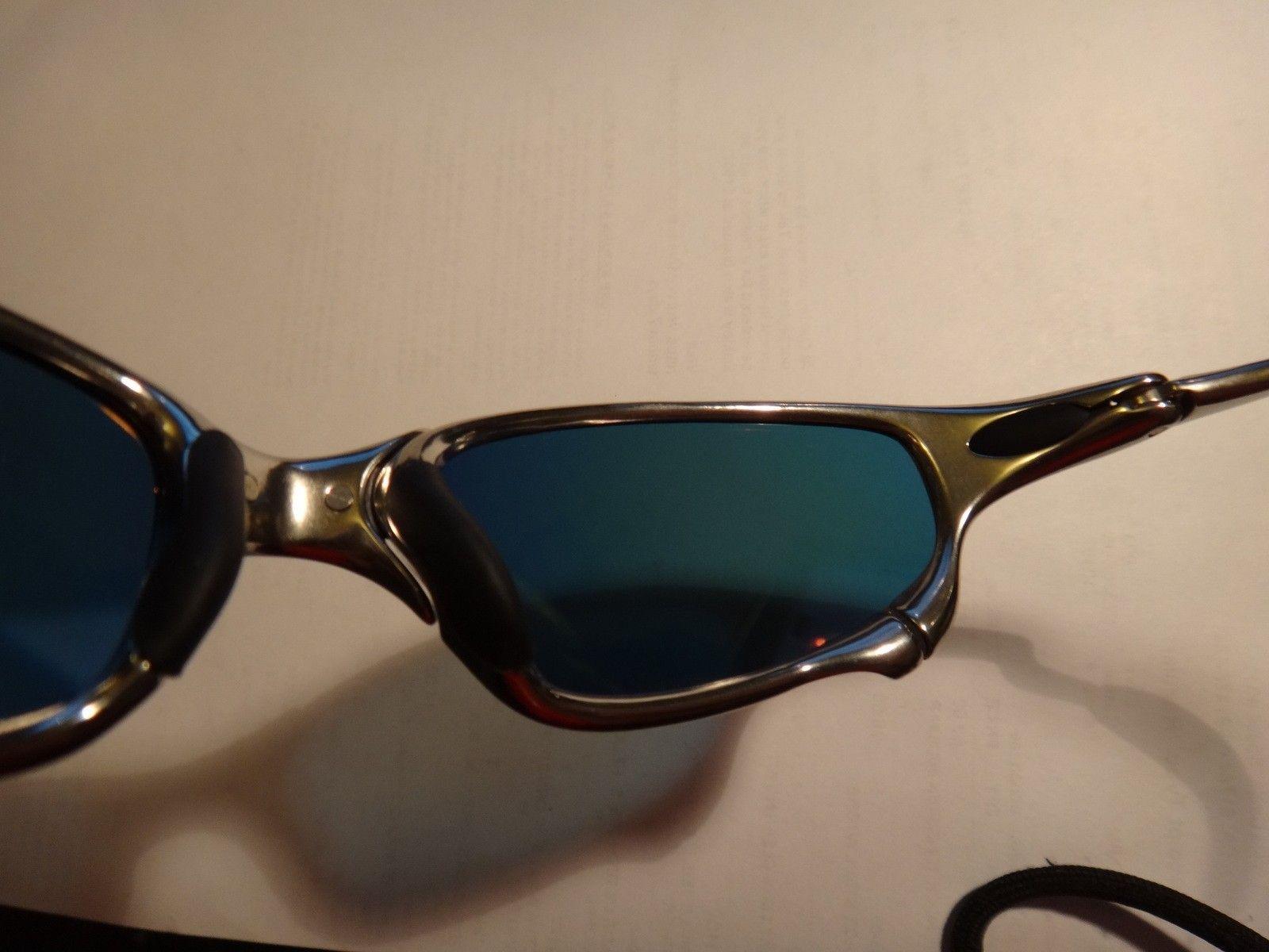 Polished juliet w/ fire iridium polarized lens $365 contUS - DSC07483.JPG