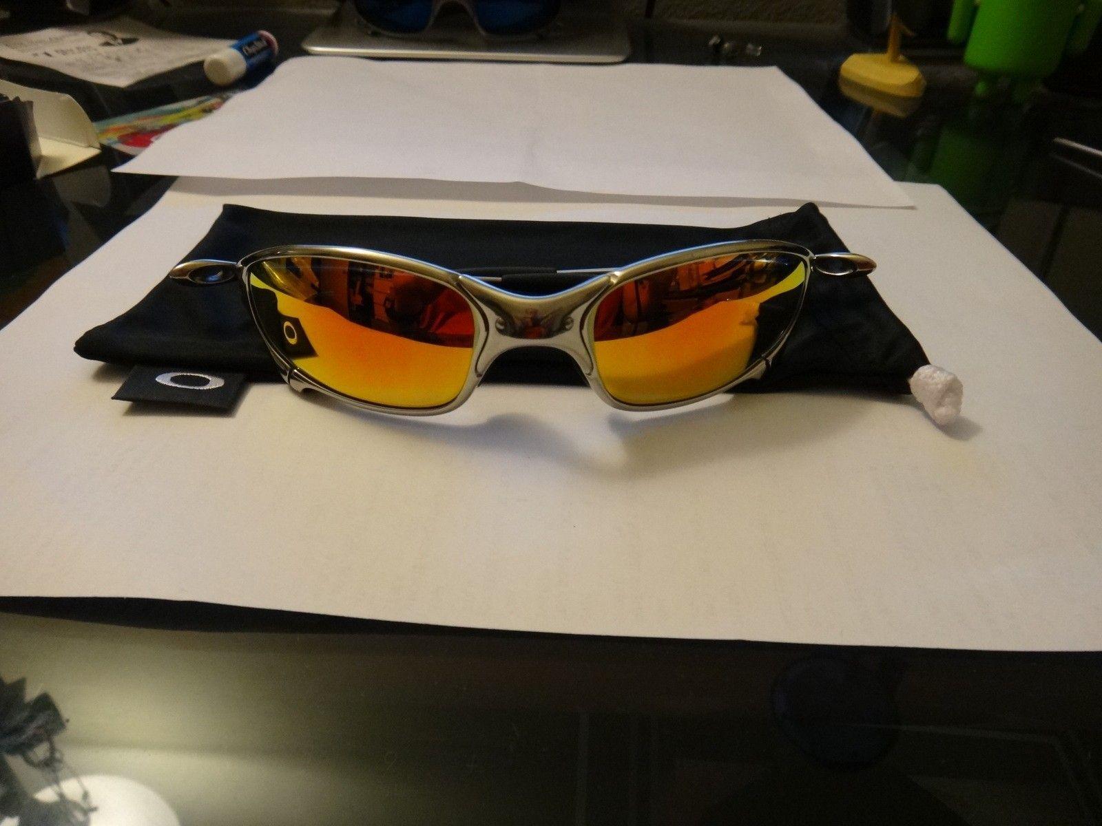 Polished juliet w/ fire iridium polarized lens $365 contUS - DSC07484.JPG