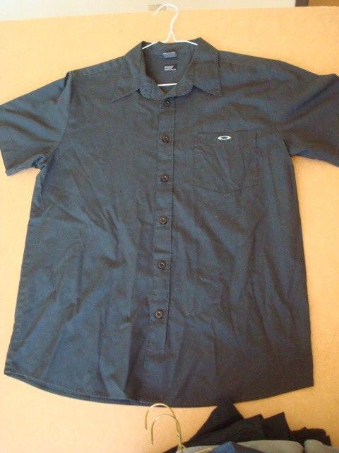 Button Down SS Shirts (Size M) 34 34 Heavy Cotton Cargo Crew Pants - DSC08668.JPG