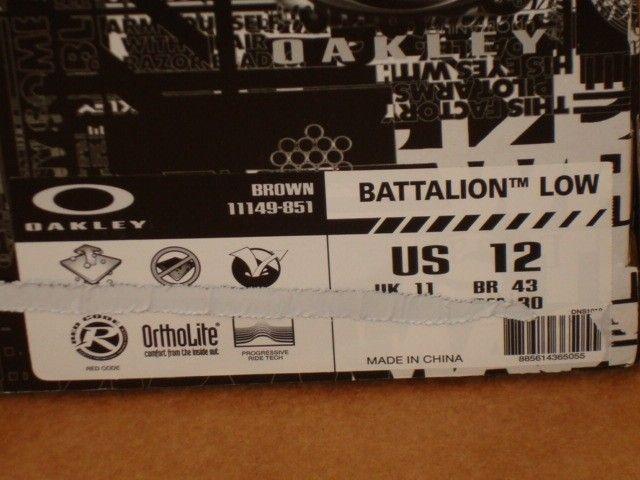 NIB Battalion Low Size 12 & Flak Low SQR Size 11 - DSC08959.JPG