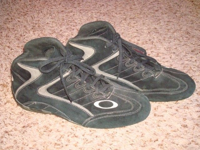 Race Mid Shoes Size 9.5 VGC SFI certified Carbon X Black - DSC09986.JPG
