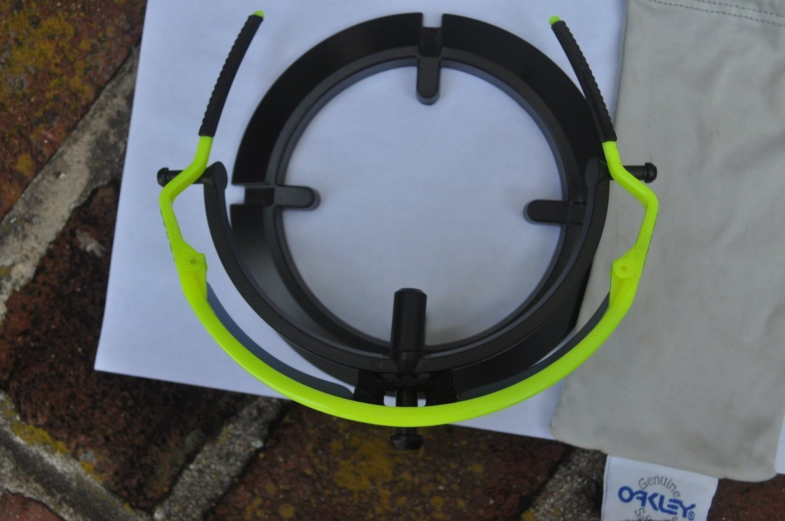Matte Grey Safehouse Jawbone, Neon Yellow Gen 1 M Frame - DSC_0061.JPG
