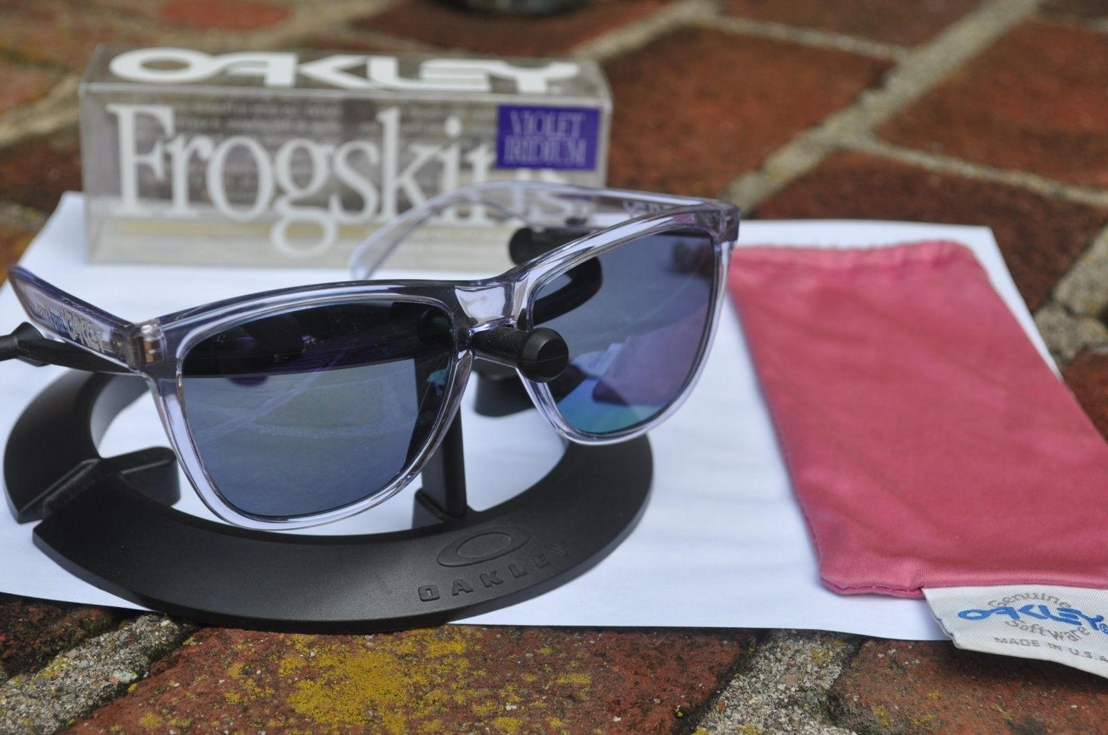 New Koston Woodgrain, Vintage Clear/ Violet - DSC_0069.JPG