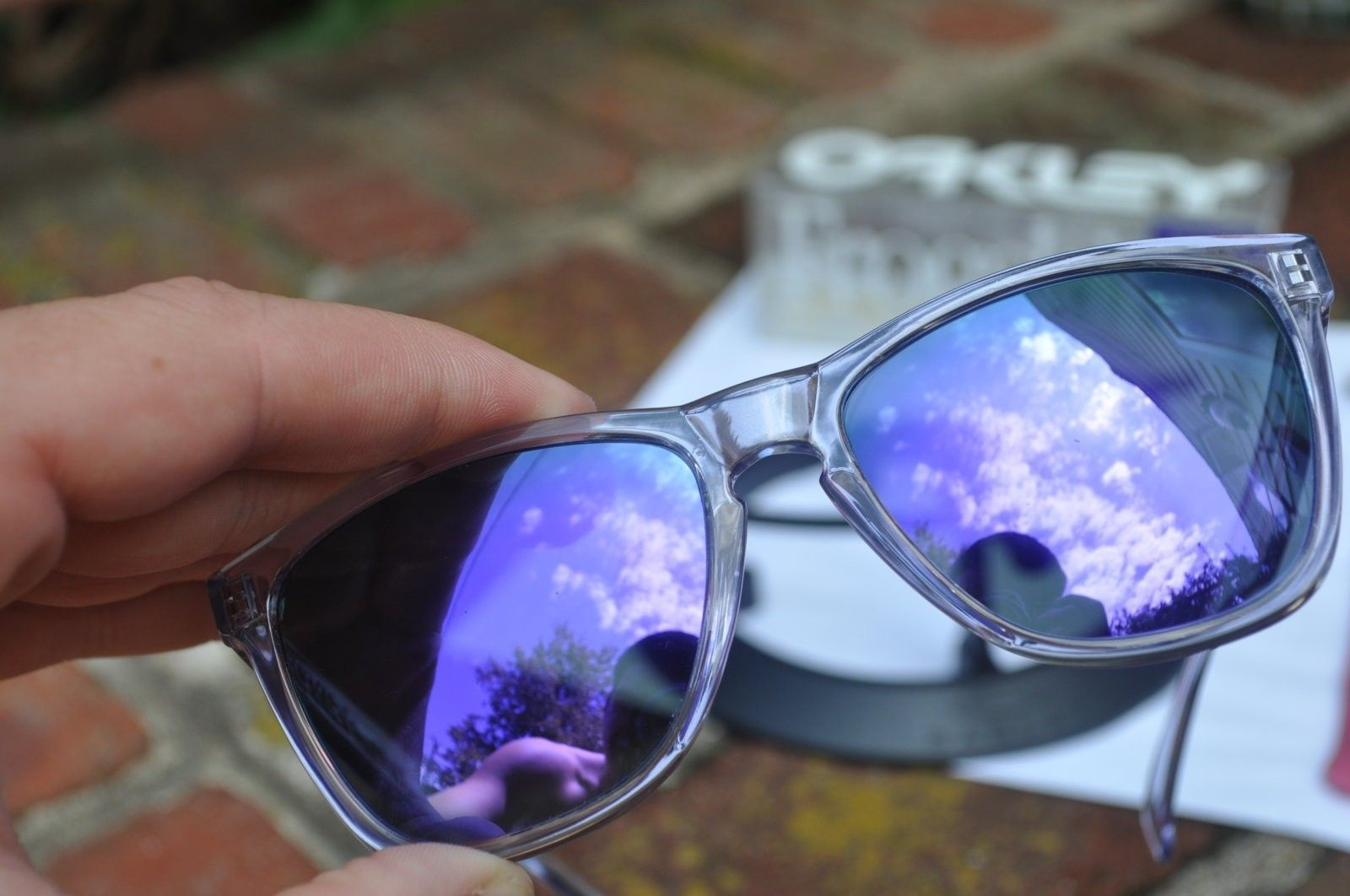 New Koston Woodgrain, Vintage Clear/ Violet - DSC_0070.JPG