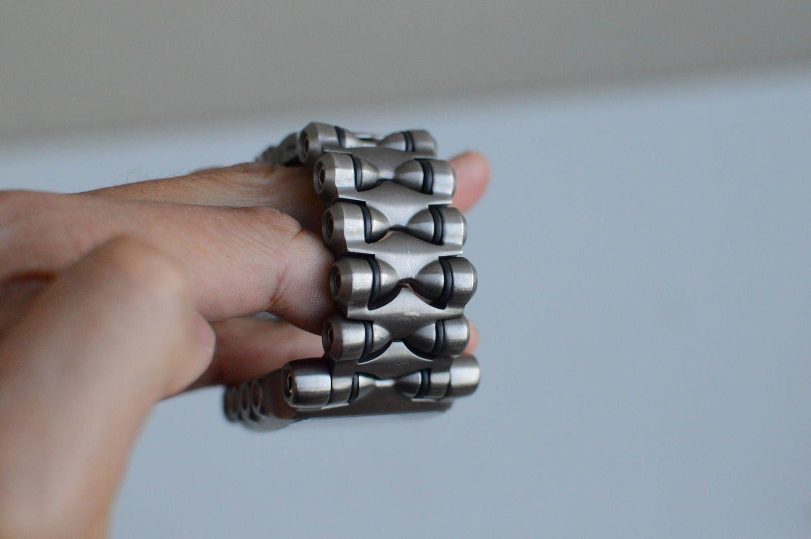 Gently Used Titanium Black Dial Minute Machine 10-193 - DSC_0181.JPG