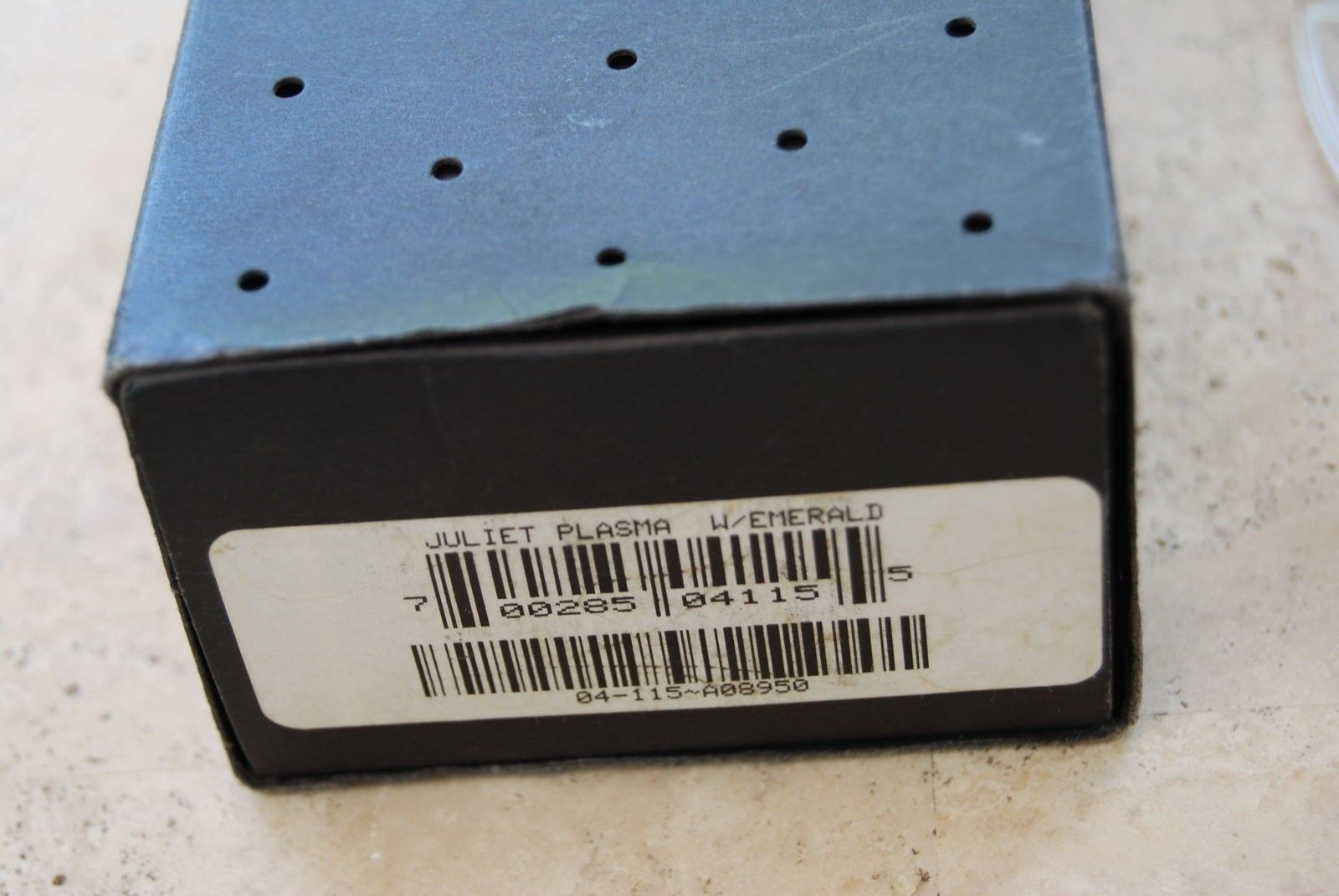 Juliets: Ichiro Polished/Blue, 2nd gen XM Ruby, Emerald - DSC_0181.JPG