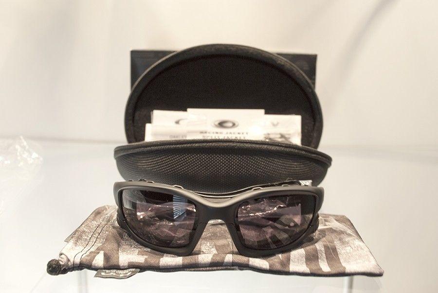 New Oakley Wind Jacket matte black and clear lenses complete - DSC_0507s.jpg