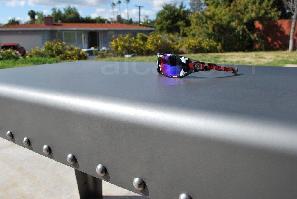 Oakley Hyjinx Frank Kozik Factory Custom +red Polarized Lenses ONE OF A KIND! - DSC_0693sssrf4.jpg