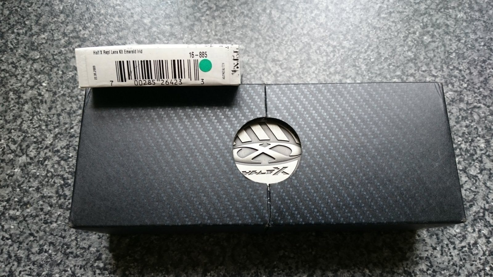 Carbon half-x w/BIP & Emerald lenses **SPF** - DSC_0739.JPG