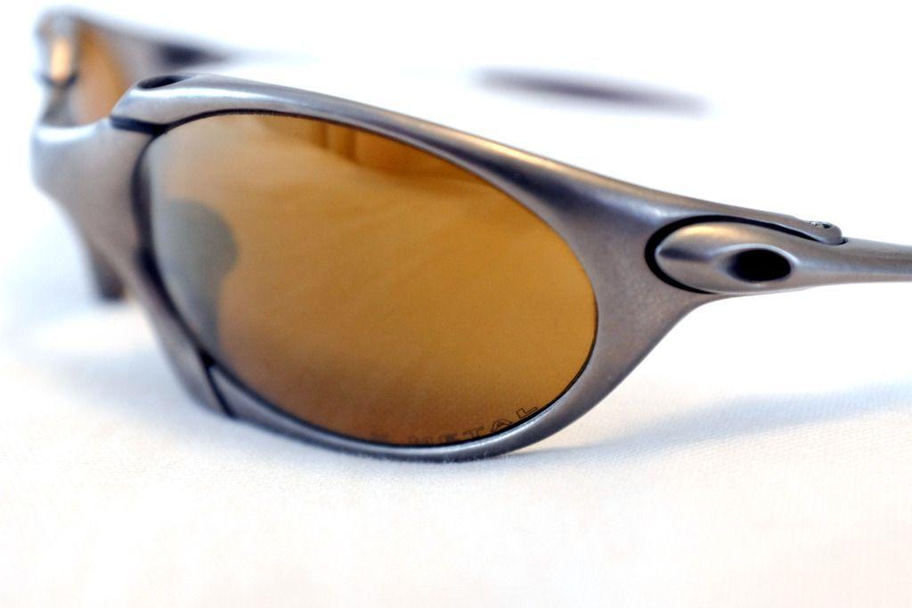 Oakley Romeo 1 Titanium/Gold - complete set - DSCF2620.jpg