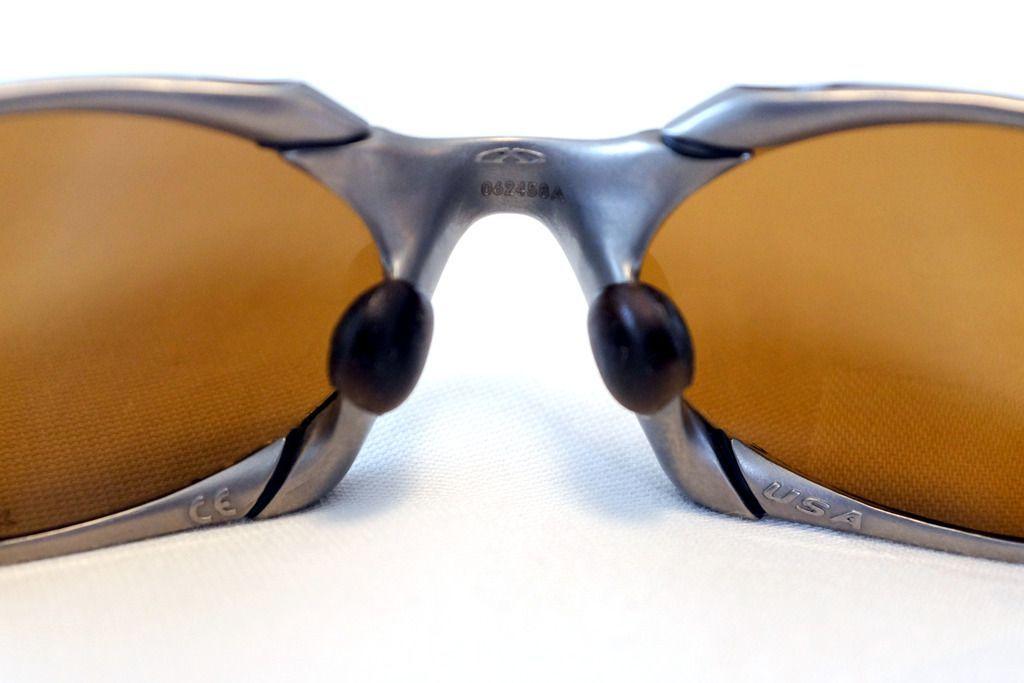Oakley Romeo 1 Titanium/Gold - complete set - DSCF2624.jpg