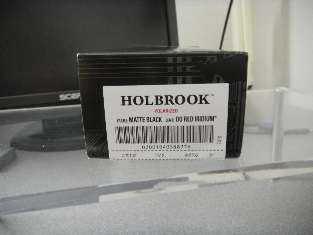 WTS - Holbrook Matte Black W/ 00 Red Iridium Polarized BNIB - DSCN0376_zps688ca829.jpg