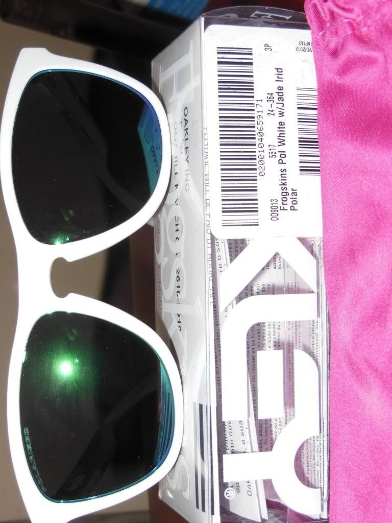 Frogskin Polished / White Jade Iridium Polarized BNIB 24-364 - DSCN04321_zpsd121b848.jpg