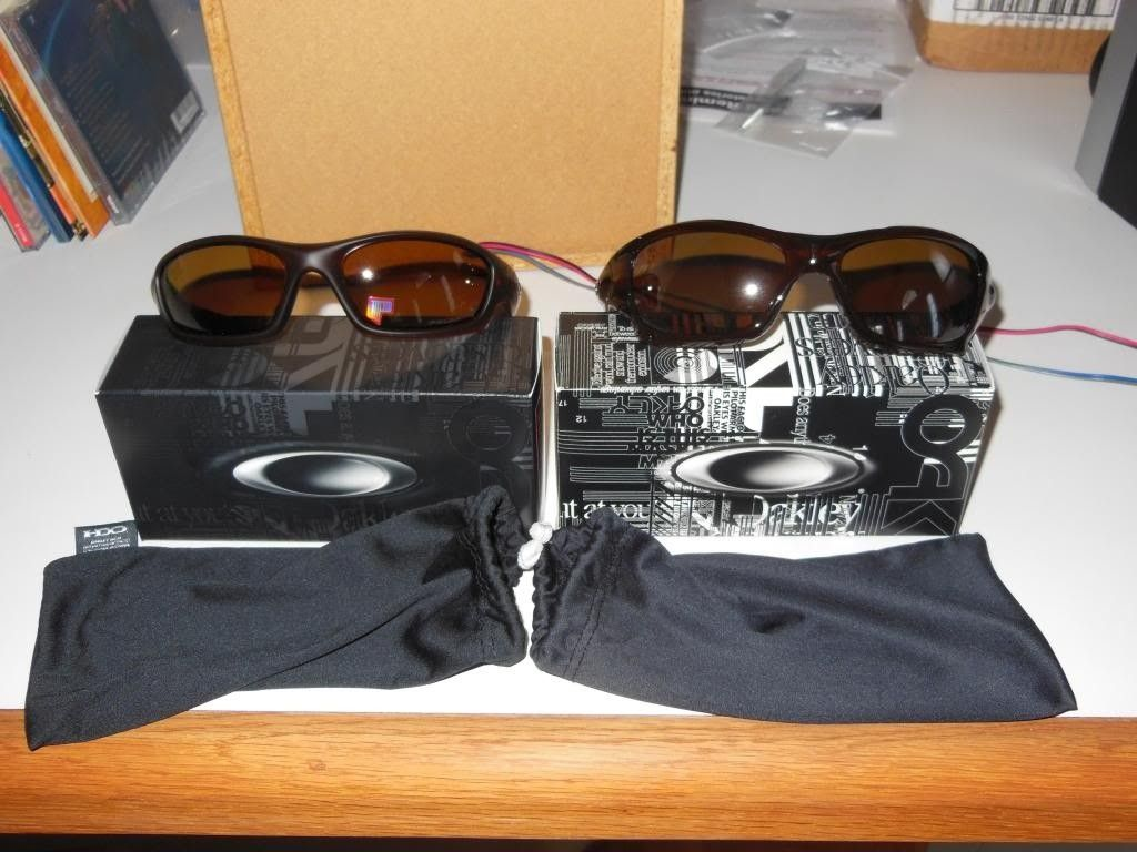 Straight Jacket Matte Rootbeer/Bonze Polarized And Pit Bull Polished Rootbeer / Tungsten Polarized - DSCN0447_zps848ae2d6.jpg