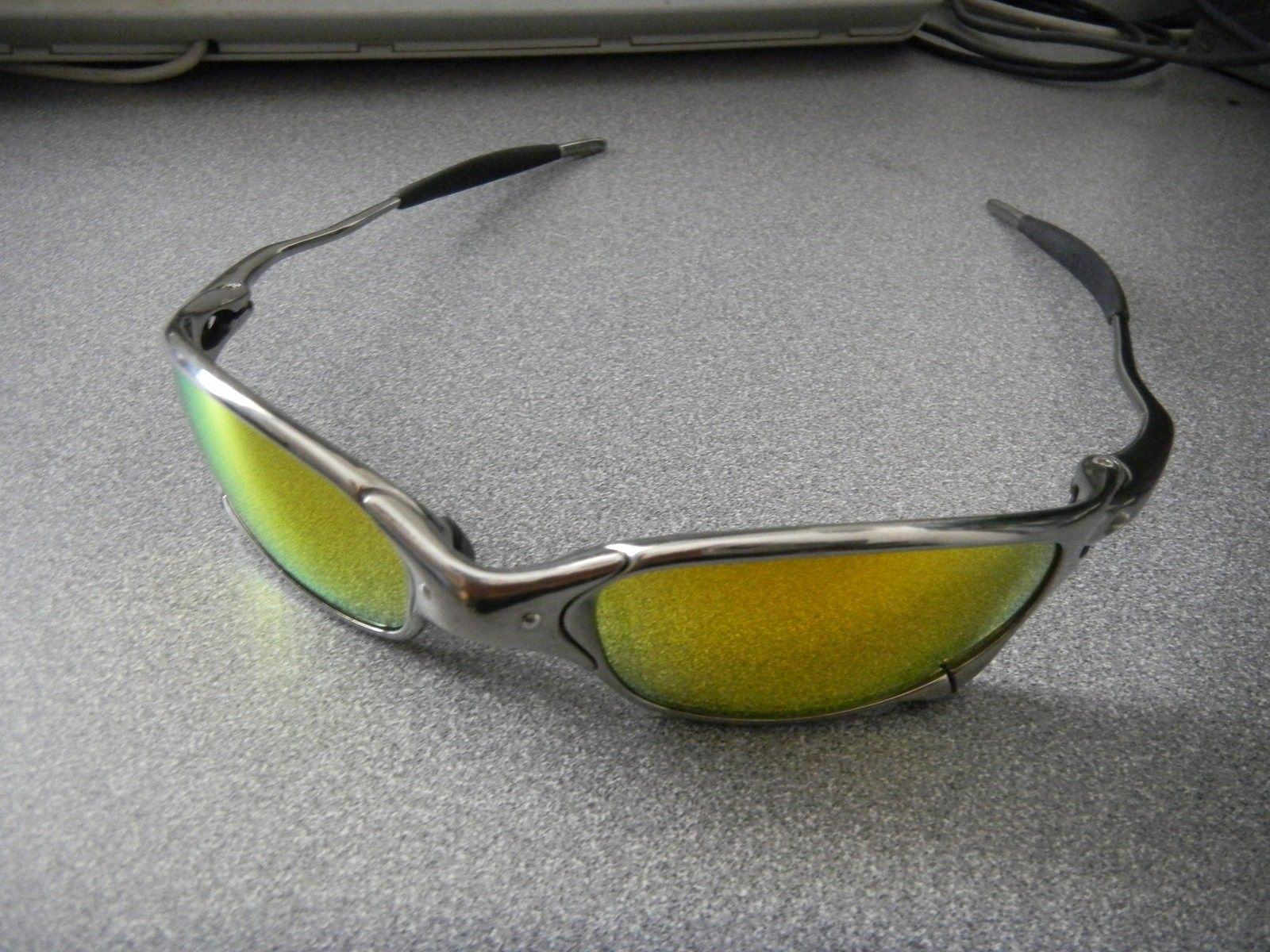 Juliet Polished With Fire Iridium Polarized Mint Complete Package - DSCN1548.JPG