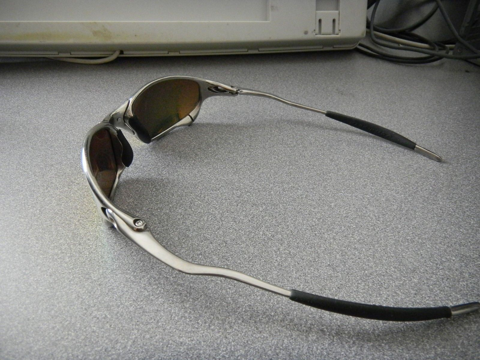 Juliet Polished With Fire Iridium Polarized Mint Complete Package - DSCN1549.JPG
