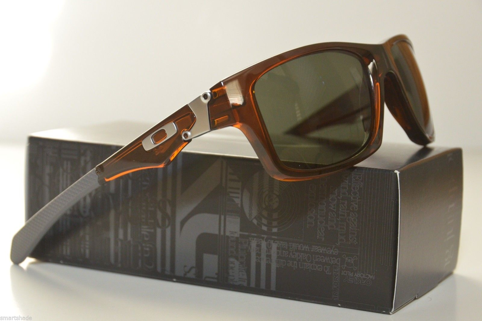 Jupiter Squared Polished Rootbeer With Dark Grey Lens 9135-20 New - dtz9.jpg