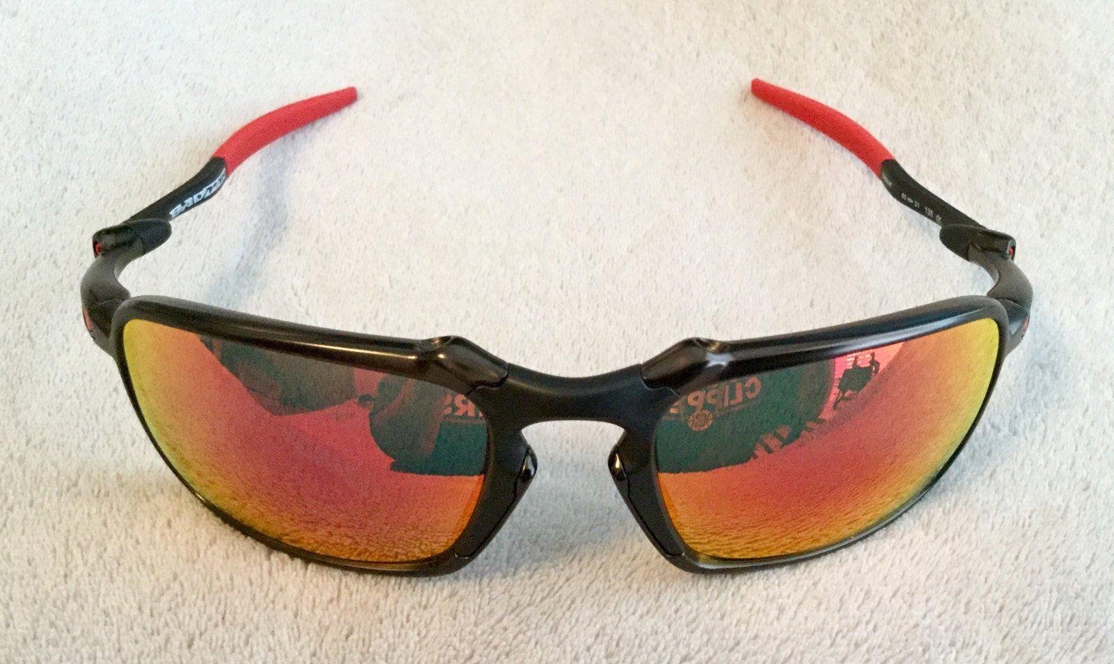 ce4b8f1ae1 Oakley Badman Scuderia Ferrari Sunglasses (New) - E694CD34-B1D8-4B33-8A10