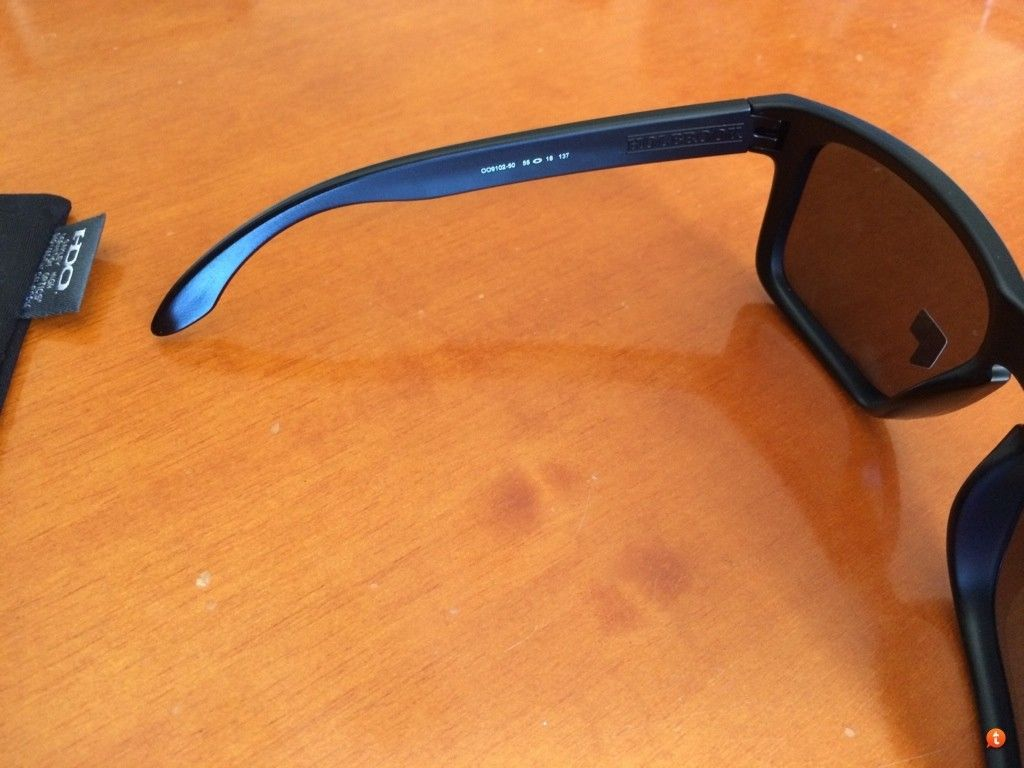 Holbrook Matte Black Frame With Emerald Iridium Polarized New For Trade. - e8ejabys.jpg