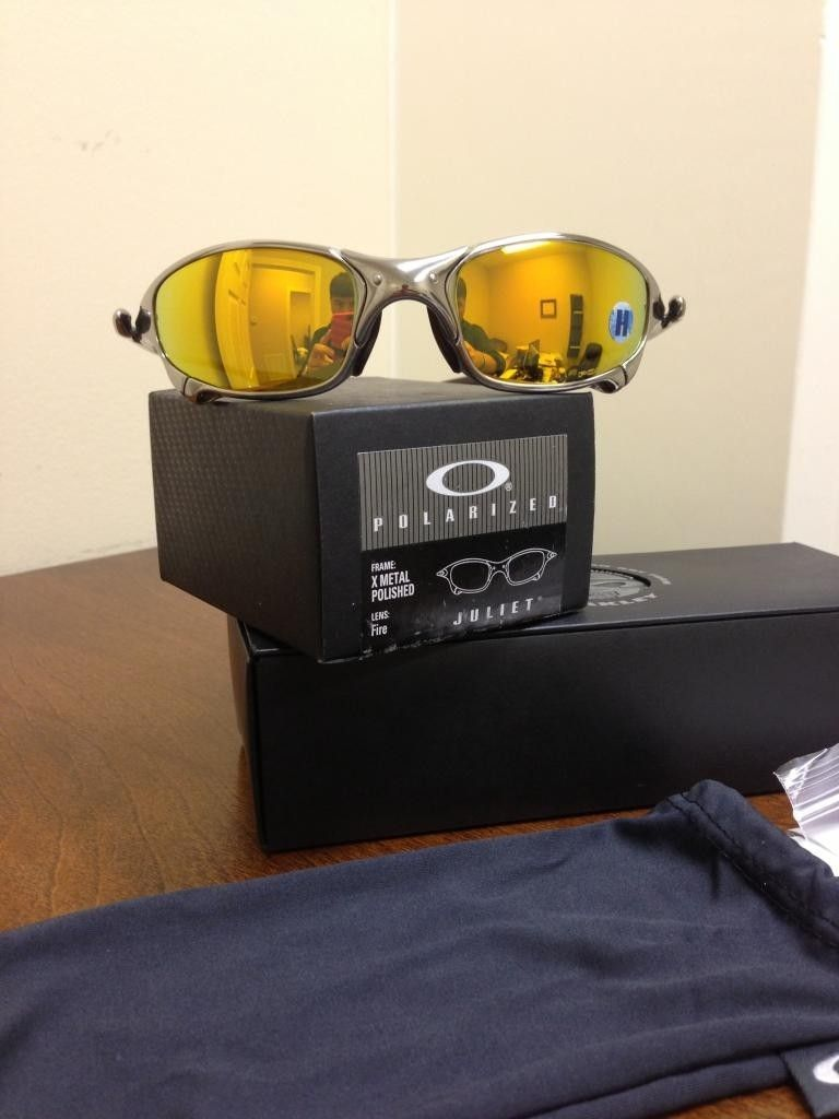 Brand New Polished Polarized Fire Juliet Custom Oakley Rubber Kit - ebay992_zpsa19c413d.jpg