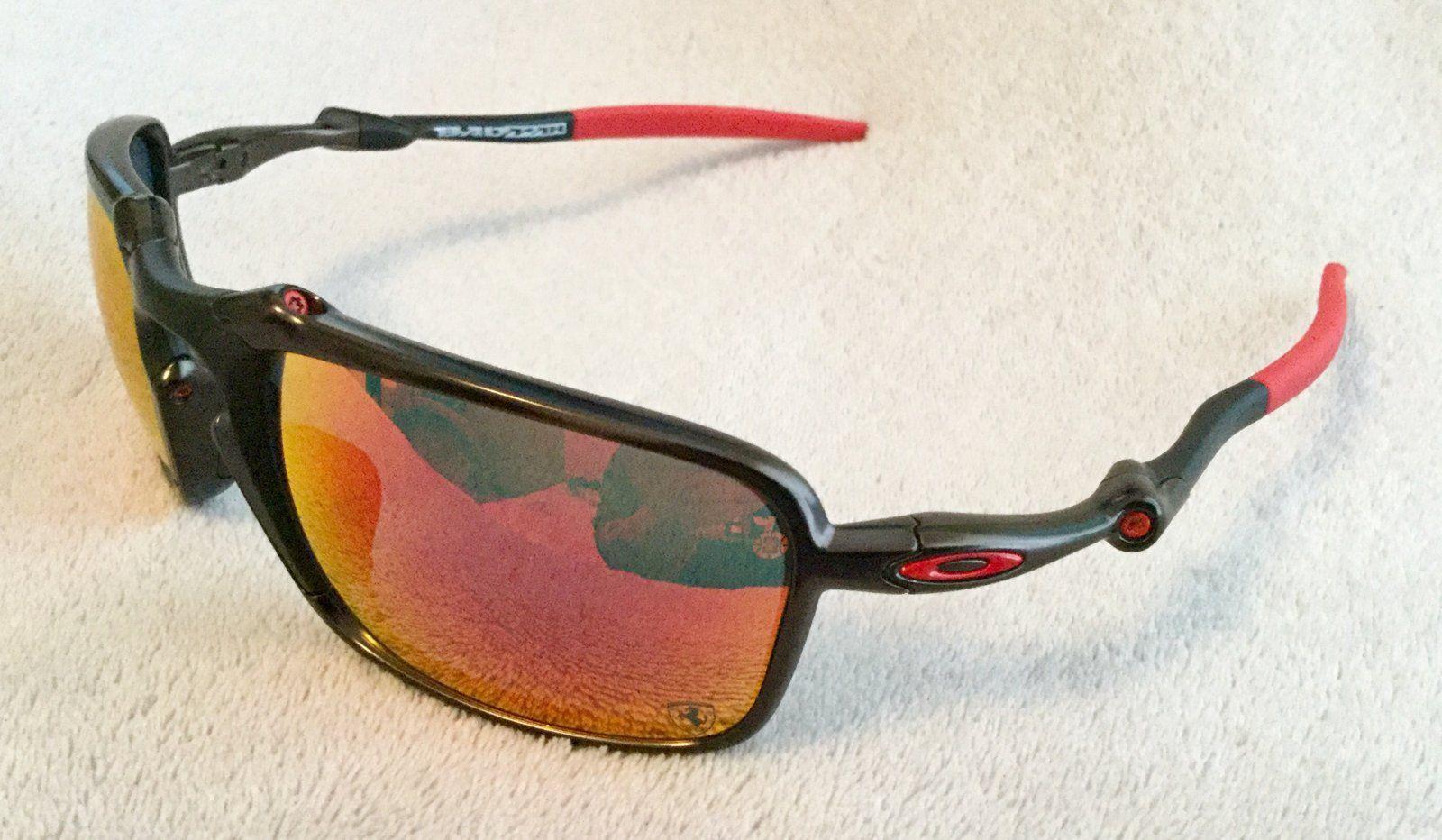 Sold Oakley Badman Scuderia Ferrari Sunglasses New Oakley Forum