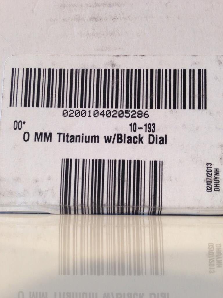 Minute Machine Titanium/Black Dial. - ezutagyg.jpg