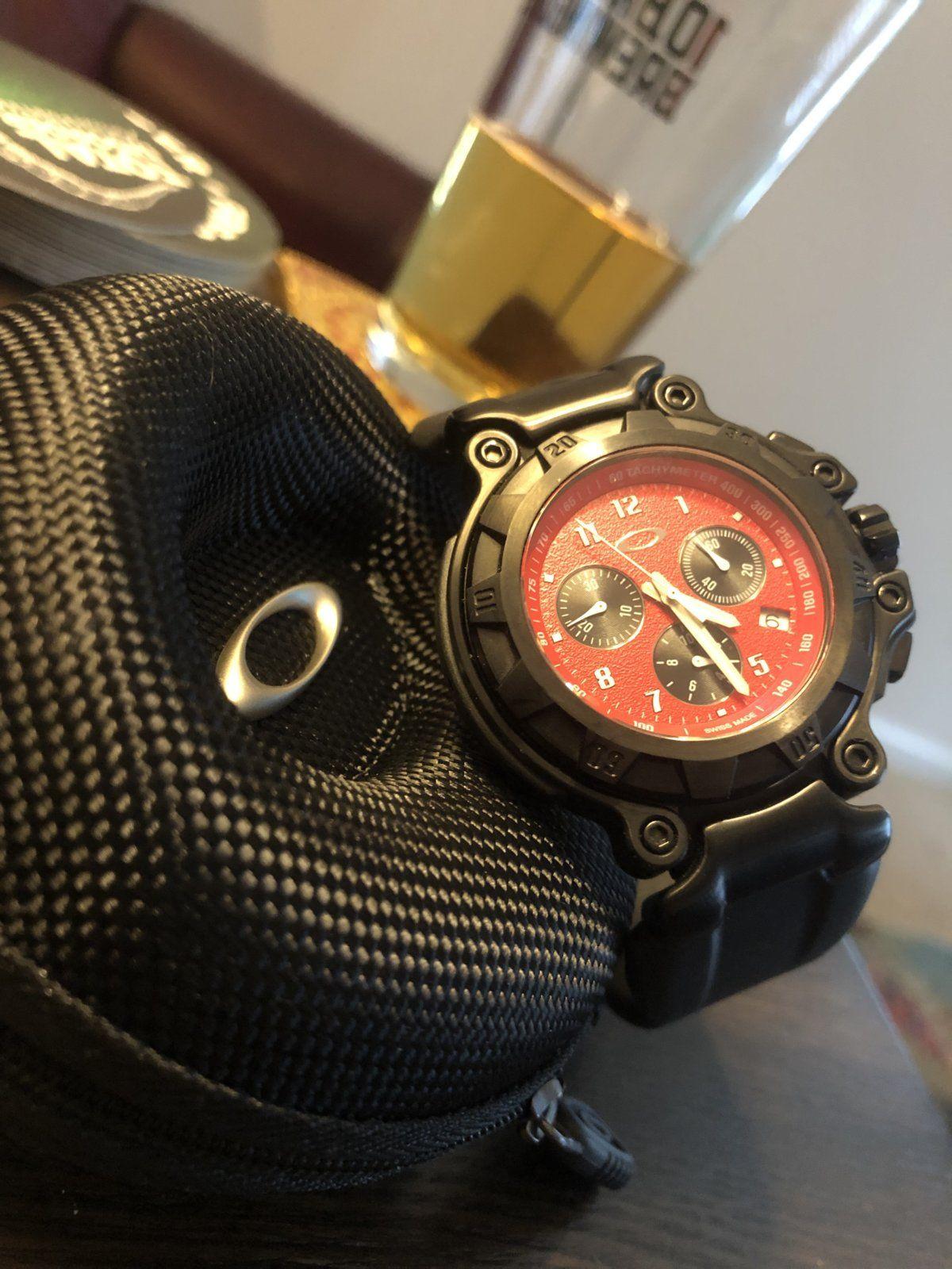 First Oakley Watch - F6D120B0-25C7-41C7-A6B3-0E567FD9F8A2.jpeg