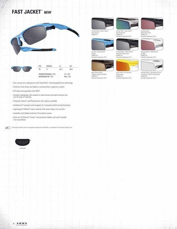 oakley eyewear catalogue  2011/2012 Oakley Eyewear Catalogue